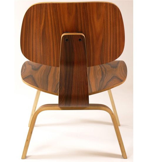 eames lcw lounge chair rosewood brand new boxed. Black Bedroom Furniture Sets. Home Design Ideas