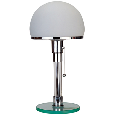 wilhelm wagenfeld wg24 globe light table lamp ebay. Black Bedroom Furniture Sets. Home Design Ideas